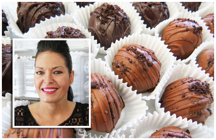 Our Super Fabulous Owner, Lisa and Her Amazing Oreo Truffles
